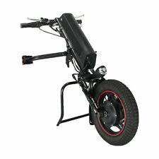 36V 250W E-Silla de Ruedas Tractor Accesorio handbike withshock Amortiguador 9AH Batería