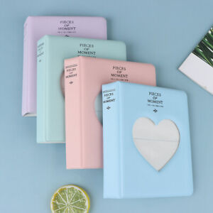 Photo Album Fits for Instax Mini Each Holds 64 Photos love heart Ticket CollBDA