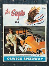 1971 Oswego Speedway Program Vol.8 #9 Corky Stockham
