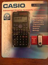 BRAND NEW CASIO ADVANCED DISPLAY SCIENTIFIC CALCULATOR FX-300ES USB drive