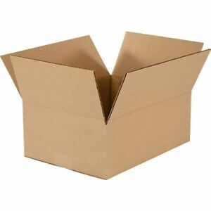 12 x 9 x 4, 200# Mullen Rated, Shipping Boxes, 25/Bundle