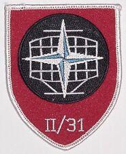 Bundeswehr Aufnäher Patch NATO - II./ Frenmelderegiment 31 ...........A5045