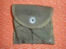 U.S.ARMY: WWII ,1 (one)   MAGAZINE POUCH ,DOUBLE,WEB,CARBINE,Cal.30 M-1 ,WWII