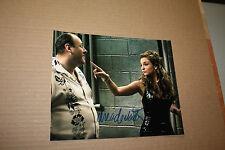 DREA DE MATTEO Signed Sopranos 8x10 Autograph Photo Adrianna La Cerva  W/TONY