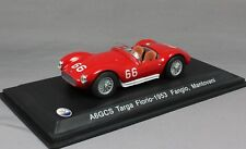 Whitebox Maserati A6GCS Targa Florio 1953 Fangio & Mantovani WBS042 1/43 NEW
