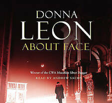 DONNA LEON - ABOUT FACE - AUDIO - READ BY ANDREW SACHS - 4.5 HOURS