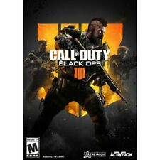 Call of Duty: Black Ops 4 (PC, 2018) New