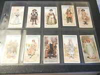 1926 Gilbert & Sullivan 1 performing arts Complete Players Tobacco Set 50 card