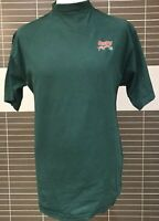 Castrol Racing Team T Shirt Large 100% Cotton Pit Stop Motor Racing
