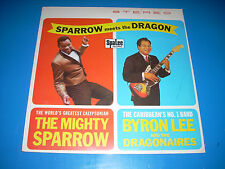 Mighty Sparrow Byron Lee Sparrow meets Dragon Trojan SEALED UK Import Reggae LP