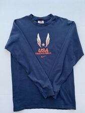 USA Track And Field Cotton Long Sleeve