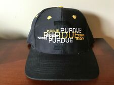 new styles 41796 8b468 VTG Purdue Boilermakers Basketball Snapback Hat Top of the World NWOT  Spellout