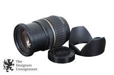 Tamron Camera Lens Aspherical DiII SP LD XR AF 17-50mm 1:2.8 & Tulip Hood DA09