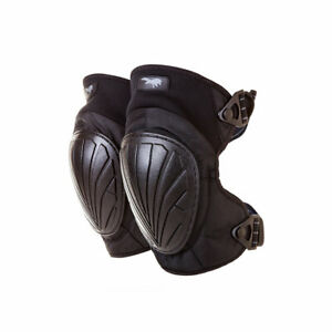 Hagor Tactical Soldiers Shooting Knees Adjustable Protective Gear Black Pads