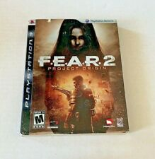 F.E.A.R. 2: Project Origin (Sony PlayStation 3, 2009) COMPLETE