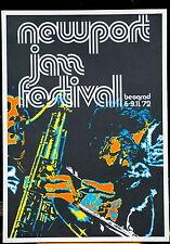 NEWPORT JAZZ FESTIVAL BELGRADE 1972 POSTER THELONIOUS MONK DIZZY GILLESPE ETC