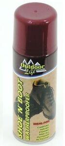 Shoe N Boot Cleaner Waterproof Proofer Spray Footwear Spray Outdoor 300ml