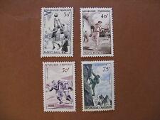 FRANCE neufs n° 1072 à 1075  2ème série des sports  (1956)