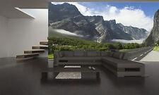 Norwegian Mountains Wall Mural Photo Wallpaper GIANT DECOR Paper Poster