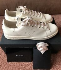 New Men's Adidas Raf Simons Stan Smith Leather Sneaker Creme Size 11 CG3351