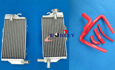 For HONDA CR250R CR250 2005 2006 2007 05 06 07 aluminum radiator & silicone hose