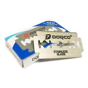 Dorco Platino ST300 Inox Doppio Filo (De) Razorblade - 10 Lame