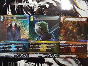 Final Fantasy TCG Opus VIII Premium (Foil)  - YOU PICK FROM LIST!