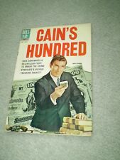 CAIN'S HUNDRED - # 2 - 1962 DELL COMIC BOOK