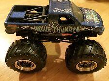 HOT WHEELS Metal Base BLUE THUNDER Monster Jam Truck