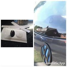Glass Effect De Wiper Black Bung + Plastic Screw Cap Vw Golf MK4 MK5 MK6 GTI R32