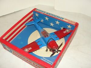 VIntage Hubley WWII P-47 American Eagle Carrier Fighter Airplane in Box