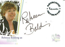 CHARMED DESTINY AUTOGRAPH CARD A5 OF REBECCA BALDING AS ELISE