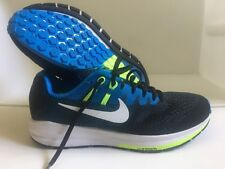 Nike Air Zoom Structure 20 Blue Green Running Shoes Mens Size 8 NEW 849574-004