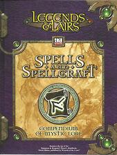 Legends & Lairs: Spells & Spellcraft, d20 system, Fantasy Flight Games, As New