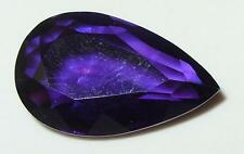 9.75ct STUNNING COLOR BOLIVIAN AMETHYST PEAR CUT