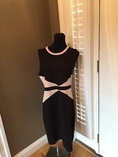 BLACK Brand By SAKS FIFTH AVENUE KNIT SLEEVELESS Dress, Size XL NWT $138!!