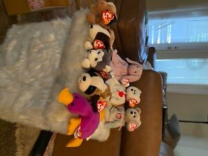 New condition Beanie Babies set with insane individual value one set price!