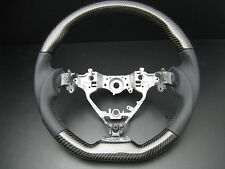 Toyota CAMRY 2012-on GENUINE Carbon Fiber leather steering wheel-SPORTS