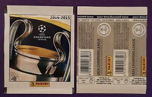 1 X PACKET PANINI UEFA CHAMPIONS LEAGUE 2014 - 2015 WHITE VERSION HORIZONTAL