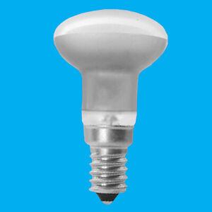 2x 25W R39 Dimmable Pearl Reflector Spotlight, Lava Lamp Light Bulb, SES E14