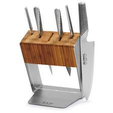Global Katana 6 piece Professional Knife Block Set - Nib