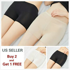 Women Stretch Safety Under Shorts Seamless Leggings Pants Skirt Dress