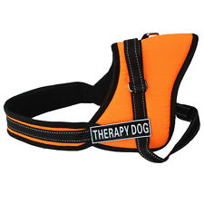Reflective Service Dog Vest Padded Dog Harness with Removable 2 Patches Choose