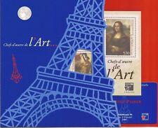FRANCE- Beautiful mint-condition PHILEX FRANCE Sheet/ticket & original folder