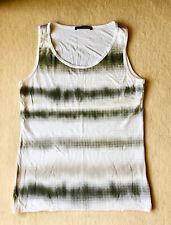 schönes Shirt, Top von BETTY BARCLAY weiss-grau-beige, Muster, Gr. 38/40/42