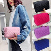 US-Travel Cosmetic Makeup Bag Portable Toiletry Case Pouch Organizer Storage