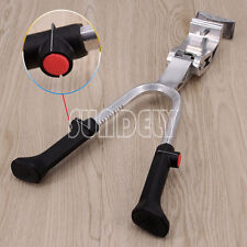 """Silver Bike Cycle Bicycle Adjustable Centre Kick Stand - Prop stand 20""""- 28"""""""