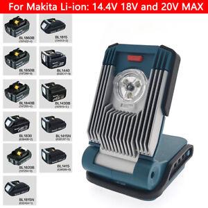 For Makita 14.4V/18V Li-ion LED Work Light Flash Torch Light Site Light DIY Set