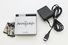 Nintendo Gameboy Advance SP Console Kingdom Hearts Silver GBASP Japan Tested
