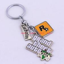 Buy 3 get 1 Free GTA 5 Keychain Souvenirs GREAT Keyring GAMER,Grand Theft Auto 5